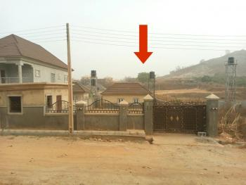 a Buildable Estate Plot Measuring 650sqm with a Built Bq, Gate House, Borehole and Gated Compound, Pent Ville Estate, Lokogoma District, Abuja, Residential Land for Sale