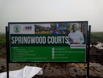 Land with Installment Plan, Springwood Courts, Ibeju Lekki, Lagos, Residential Land for Sale