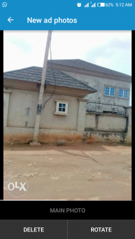 Massive Ware House on a Storey Building Sitting on a Plot of Land Suitable for Storage, Behind Total Petrol, Abule Egba, Agege, Lagos, Warehouse for Rent