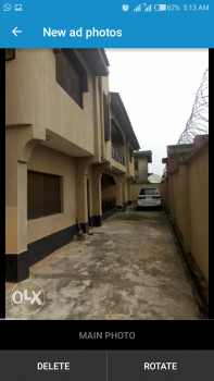 Massive Superb 3 Bedroom Upstairs with Just 3people in a Compound, Agrik Road, Beside Igando Police Station, Igando, Ikotun, Lagos, Self Contained (single Rooms) for Rent