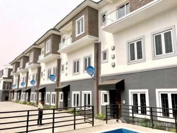 a Tastefully Built 4 Bedroom Terrace Duplex with Bq Gym and a Swimming Pool, Off Conoil Filling Station, Ikate Elegushi, Lekki, Lagos, Terraced Duplex for Sale