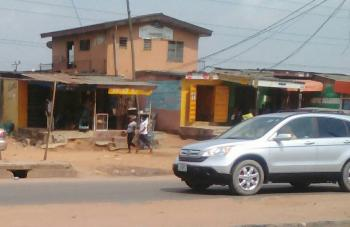 a Storey Building Consisting of 8 Rooms Plus 3 Shops Along Major Road Egbe Ejigbo Road, Egbe Ejigbo Road Opposite Mobil Petrol Station, Egbe, Lagos, House for Sale