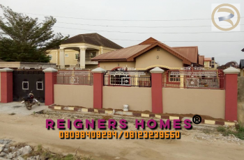 Luxury and Detached 4 Bedroom Bungalow, Valley View Estate, Ebute, Ikorodu, Lagos, Detached Bungalow for Rent