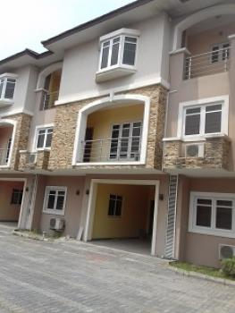 Exquisite 4 Bedroom Terrace House with a Room Boys' Quarter and Excellent Facilities, Oniru, Victoria Island (vi), Lagos, Terraced Duplex for Sale