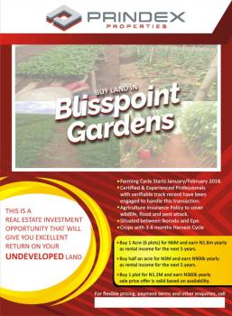 Blisspoint Gardens. Acres of Land for Agriculture, Ikorodu, Lagos, Mixed-use Land for Sale