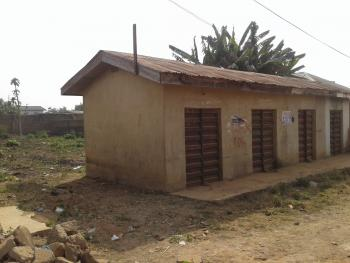 2 Plots with 4 Shops in Front, Rinsayo Junction, Osogbo, Osun, Mixed-use Land for Sale