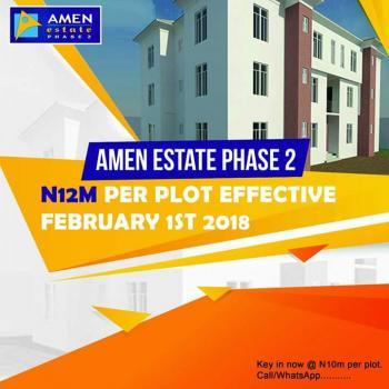 Land, Amen Estate, Eleko, Ibeju Lekki, Lagos, Commercial Land for Sale