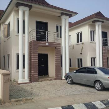 New 4 Bedroom Terrace Duplex No Bq, Apo, Abuja, Terraced Duplex for Rent