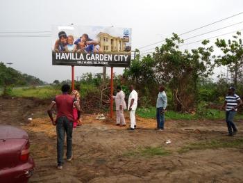 Dry Plots of Land, Havilla Garden City, Udu, Delta, Residential Land for Sale