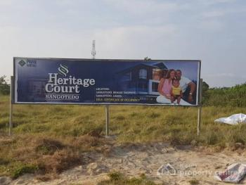 Available Dry Plots with C of O, Heritage Court, Behind Shoprite, Monastery Road, Sangotedo, Ajah, Lagos, Residential Land for Sale