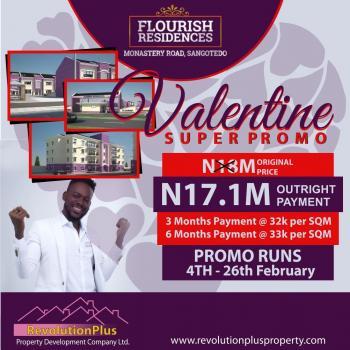 Land, Flourish Residence Estate, Sangotedo, Ajah, Lagos, Residential Land for Sale