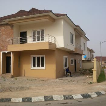 Well Built & Spectacular Finished 4 Bedroom Semi Detached Duplex with Bq ( Shell Options), Off Oladipp Diya Way, By Brains & Hammers Estate, Apo, Abuja, Semi-detached Duplex for Sale