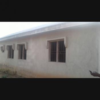3 Bedroom Flat on Half Plot of Land, Anigilaje Community, Aregbe, Obatoko, Abeokuta South, Ogun, Self Contained (studio) Flat for Sale