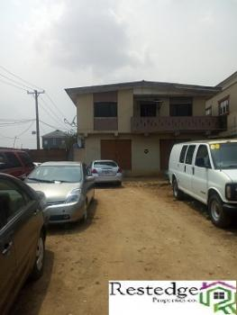 One-storey Building on 2 Plots of Land @ Abule Egba, Abeokuta Expressway, Abule Egba, Agege, Lagos, Commercial Property for Rent