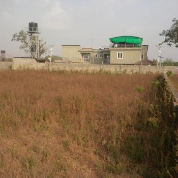 Fenced, Well Secured & Spectacular Residential Land Use, Gilmore Infrastructure Area Opposite Diplomatic Zone, Jahi, Abuja, Residential Land for Sale
