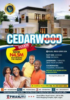 Amazing Dry Plots of Land with Infrastructures in Place, Cedarwood Estate Phase 1, Eluju, Ibeju Lekki, Lagos, Residential Land for Sale