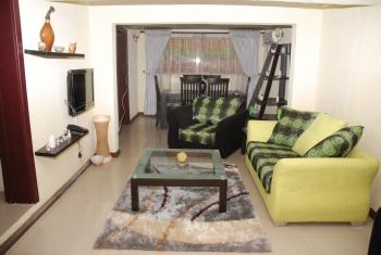 Fully Furnished and Serviced 3 Bedroom Flat, Awuse Estate, Opebi, Ikeja, Lagos, Flat Short Let