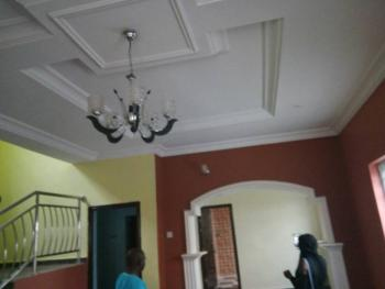 Fine Newly Built 4 Bedroom Duplex, Pop Ceiling, 2 Sitting Rooms, Nice Kitchen with Cabinet and Water Heater, Ekoro, Ipaja, Lagos, Flat for Sale