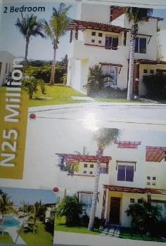 Luxury 2 Bedroom Duplex, Gioni Homes, Opposite Huce & Doner Filling Station, Lakowe, Eputu, Ibeju Lekki, Lagos, Terraced Duplex for Sale