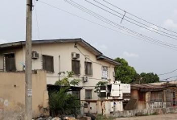 Three Blocks of a Total of 9 Units of 3 Bedroom Flats on Over 1800 Sqm Land, Ilupeju Estate, Ilupeju, Lagos, Block of Flats for Sale