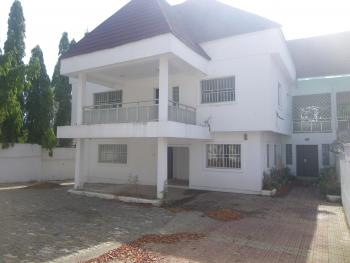 Old 6 Bedrooms+2 Rooms Bq, Maitama District, Abuja, Semi-detached Duplex for Rent