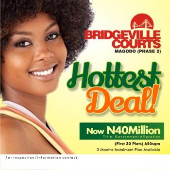 Bridgeville Estate, Gra, Magodo, Lagos, Residential Land for Sale