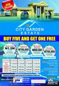 City Garden Estate, City Garden Estate, Behind Caleb University, Imota, Lagos, Residential Land for Sale