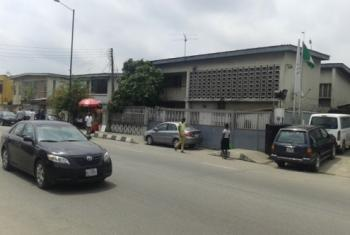 a Commercial Property, Bode Thomas, Surulere, Lagos, Commercial Property for Rent