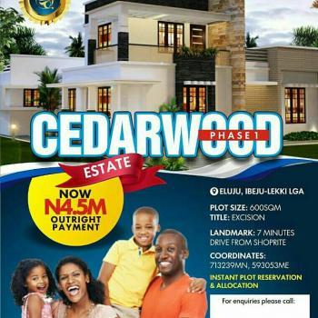 Cedarwood Phase 1, Eluju, Ibeju Lekki, Lagos, Residential Land for Sale