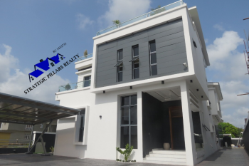 Luxury 5 Bedroom Fully Detached Duplex, Arcedia Estate, By Pinnock Estate, Osapa, Lekki, Lagos, Detached Duplex for Sale