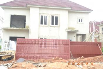 Fully Detached Carcass 5 Bedroom Duplex, By Nigeria Turkish Hospital, Karmo, Abuja, Detached Duplex for Sale