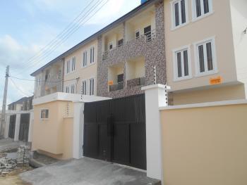 Luxury 4 Bedroom Terrace Duplex with Excellent Facilities, Osapa, Lekki, Lagos, Terraced Duplex for Sale