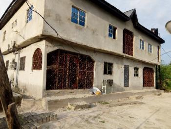 Half Acre with Four Flats Storey Building, Adagbrasa, Opposite Late Genera Azizas  Compound, Okpe, Delta, Detached Duplex for Sale