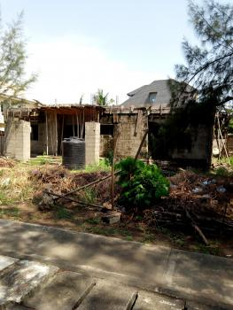 800sqms with Uncompleted Building on It, Carlton Gate Estate  By Chevron, Lekki Phase 1, Lekki, Lagos, Residential Land for Sale