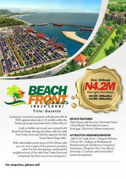 Land with Good Title, Eluju, Ibeju Lekki, Lagos, Commercial Land for Sale