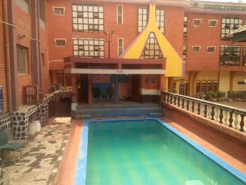 Massive 39 Bedroom Hotel with Swimming Pool, Club House, and Much More, Airport Road, Right on The Road, Ajao Estate, Isolo, Lagos, Detached Duplex for Sale