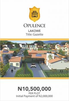 The Perfect Blend of Serenity, Comfort and Class Comes in an Affordable Package, Lakowe Golf Road, Badore, Ibeju Lekki, Lagos, Residential Land for Sale