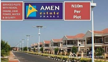 a Plot of Land  @amen Estate Phase 2, Eleko Road, Eleko, Ibeju Lekki, Lagos, Flat for Sale