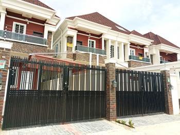 Spacious 4 Bedroom Semi Detached Duplex with Bq with Separate Personal Compounds, Chevron, Chevy View Estate, Lekki, Lagos, Semi-detached Duplex for Sale
