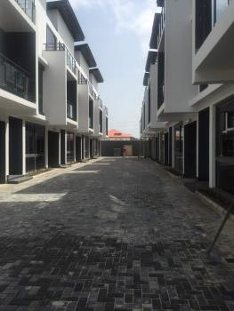 Newly Built Spacious 5 Bedroom Terraced House, Off Babatunde Anjous Street, Lekki, Lagos, Terraced Duplex for Sale