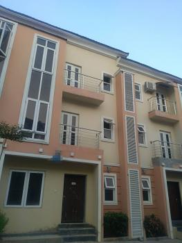 a Tastefully Finished, Fully Serviced and Brand New 4 Bedroom Terrace Duplex with 1room Bq, Lifecamp District, Life Camp, Gwarinpa, Abuja, Terraced Duplex for Rent