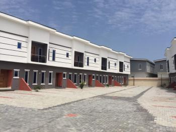Beautiful 3 Bedroom Terrace Houses, Chevron Area, Beside Lekki Conversative, Lekki Expressway, Lekki, Lagos, Semi-detached Duplex for Sale