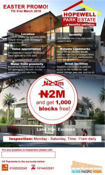 Hopewell Park Estate, Free Trade Zone Road, Ogogoro, Ibeju Lekki, Lagos, Mixed-use Land for Sale