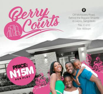 Berry Court, Ablag Avenue  Road, Off Monastery Road, Sangotedo, Ajah, Lagos, Residential Land for Sale