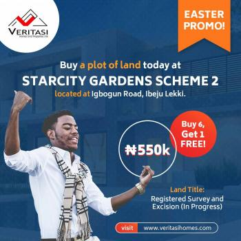 Starcity Garden Scheme 1&2, Igboun Road, Akodo Ise, Ibeju Lekki, Lagos, Residential Land for Sale