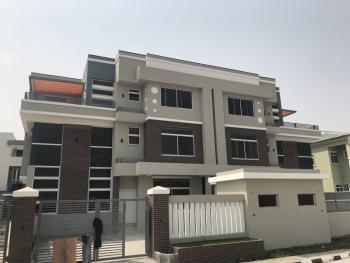 Excellent Design - 5 Bedroom Semi-detached House, Fully Serviced in a Very Secure Estate, Alma Beach Estate, Lekki Phase 1, Lekki, Lagos, Semi-detached Duplex for Sale