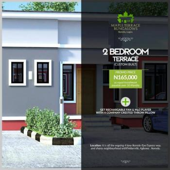 Luxury 2 Bedroom Flat, Off Itokin Road, 2mins From The Ongoing Road  Expressway, Agbowa, Ikorodu, Lagos, Semi-detached Bungalow for Sale