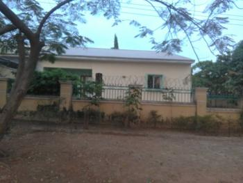 3 Bedrooms Semi Detached Bungalow Convertible to Duplex with Large Space, Off Bissau Street, Herbert Macaulay, Zone 6, Wuse, Abuja, Semi-detached Bungalow for Sale