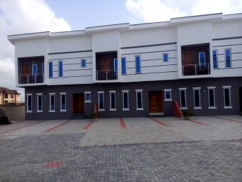 Cute New 3 Bedroom Terrace Duplex with Bq, By 2nd Toll Gate, Close to Chevron Drive, Lafiaji, Lekki, Lagos, Terraced Duplex for Sale