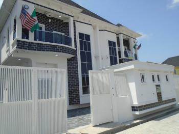 a Beautiful 4 Bedroom 1 Bq House, Olayinka   Street, Osapa, Lekki, Lagos, Semi-detached Duplex for Sale